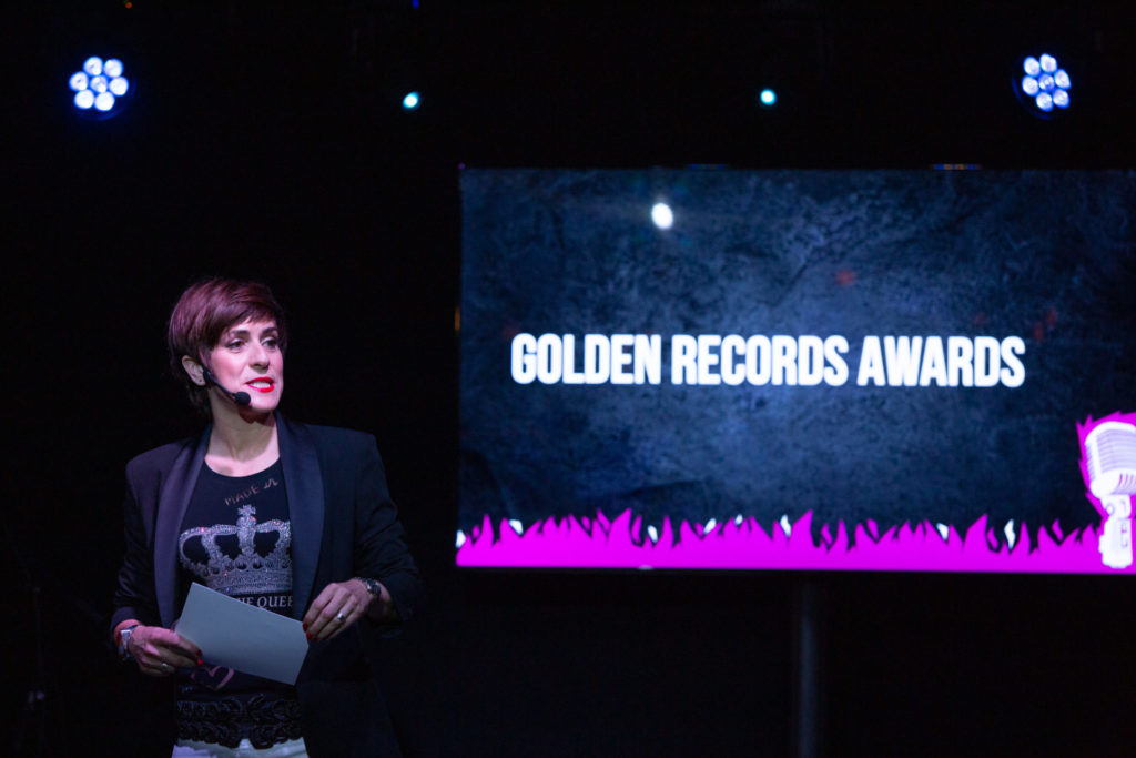 Premios Golden records